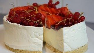Recette du Cheesecake facile sans cuisson vanille et fruits rouges