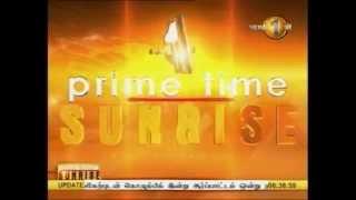 News 1st Prime time Sunrise Shakthi TV 6 30 AM 20th Octomber 2014