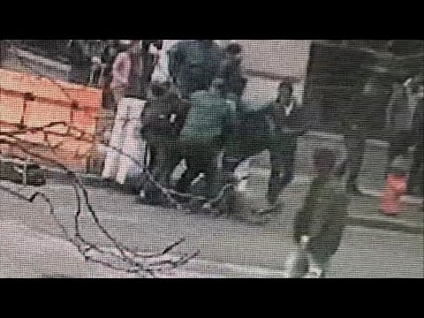 Video captures frightening attack on man by group of students in Philadelphia