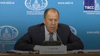 Лавров  РФ направила запрос в секретариат ООН по поводу НПО  Белые каски