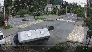 ДТП - авария в Сухуми, 06/09/2017