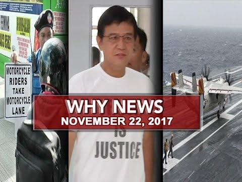 UNTV: Why News (November 22, 2017)