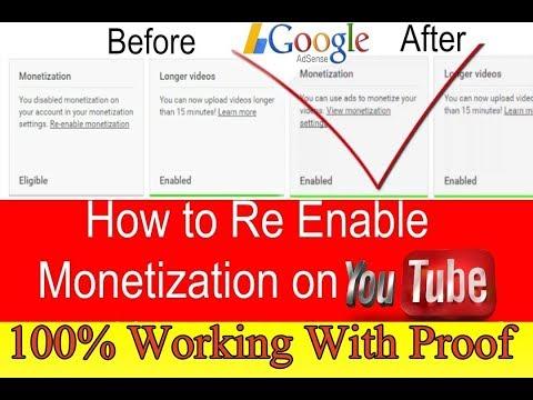 Re-Enable || Monetization || In 24 Hours || Process || Explained || Hindi/Urdu|| Technical TV Urdu
