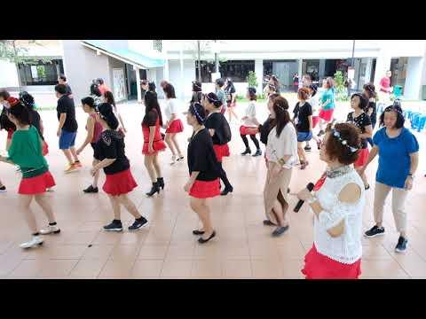 1159—Christmas Line Dance Party 9 Dec 2017 @ Tampines Changkat Zone 4 RC