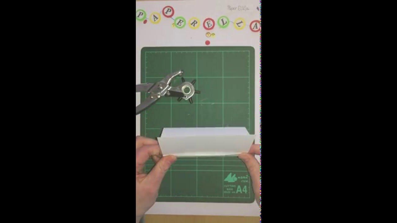 Kartenständer Aus Papier