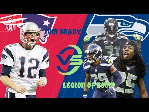 Patriots vs. Seahawks | Tom Brady Duels the Legion of Boom Highlights | (Week 6, 2012) | NFL