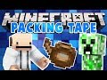 MINECRAFT |  PACKING TAPE MOD | Mod Showcase [1.12]