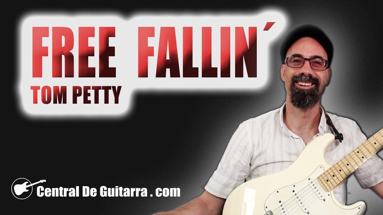 como tocar free fallin en guitarra