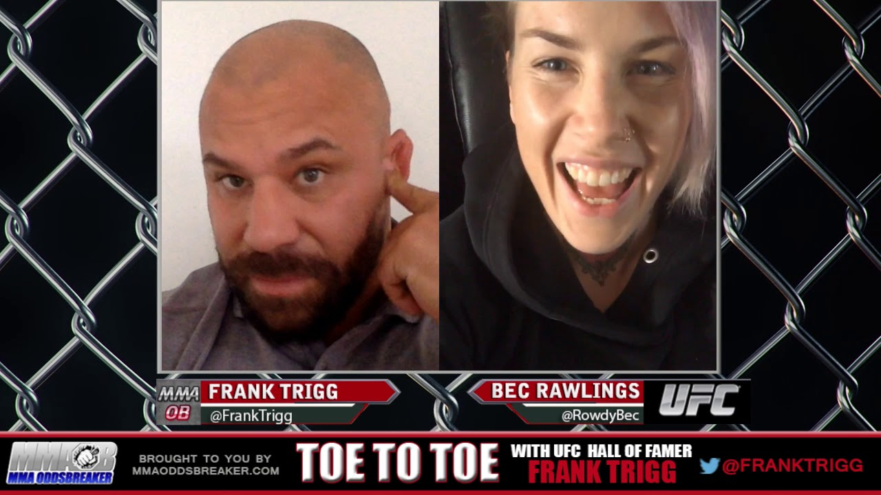 Frank Trigg pre-fight interview with UFC Fight Night 121's Bec Rawlings