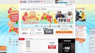 Glory4Gamers : Tournois de jeux vidéo en ligne