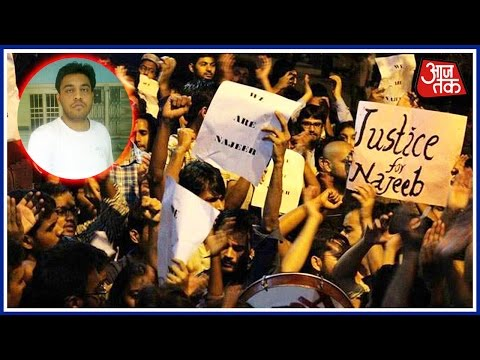 JNU Siege Ends, But Protest To Continue Over Missing Student
