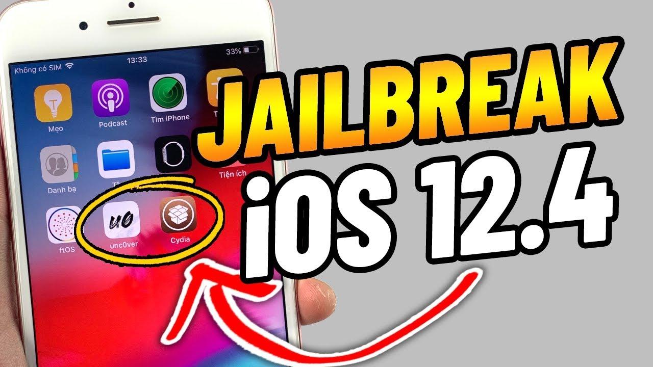 Hướng dẫn Jailbreak iOS 12.4 không cần máy tính có sẵn Cydia | Unc0ver 3.5