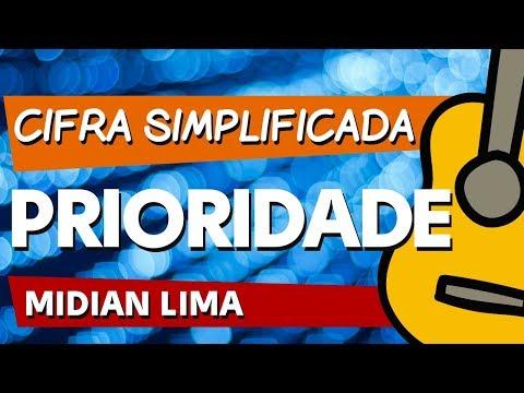 PRIORIDADE (Midian Lima) CIFRA SIMPLIFICADA