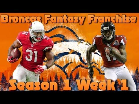 Madden 17 Denver Broncos Fantasy Franchise | Season 1 Week 1