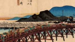 Meditation on Ukiyo-e prints by Japanese masters