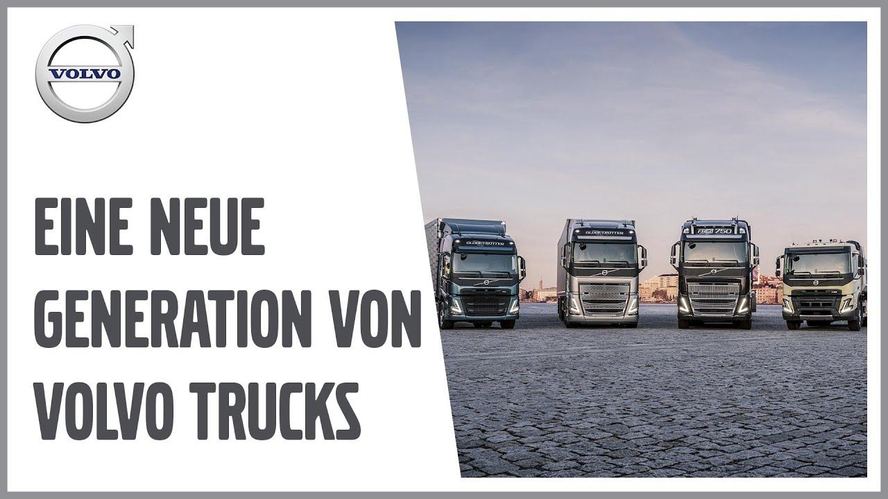 Eine neue Generation von Volvo Trucks