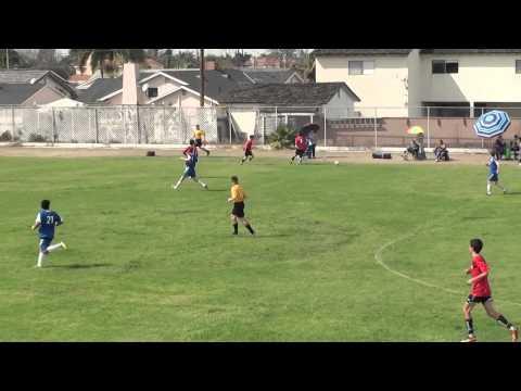 Downey AYSO Kickoff Classic BU16 West Garden Grove vs Downey
