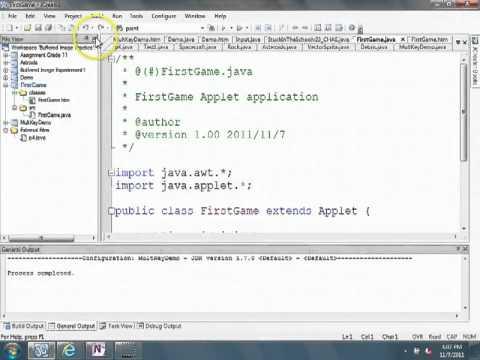 Java Applet Example Video 1/10 - JCreator IDE - YouTube