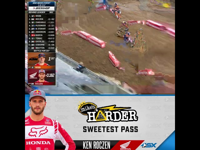 Supercross Round 3 Mike's Harder Sweetest Pass