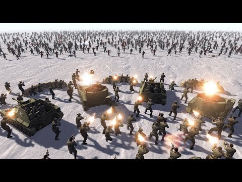 SOVIETS vs ZOMBIE HORDES - Men of War: Assault Squad 2 |