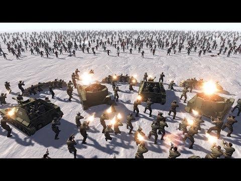 SOVIETS vs ZOMBIE HORDES - Men of War: Assault Squad 2 |