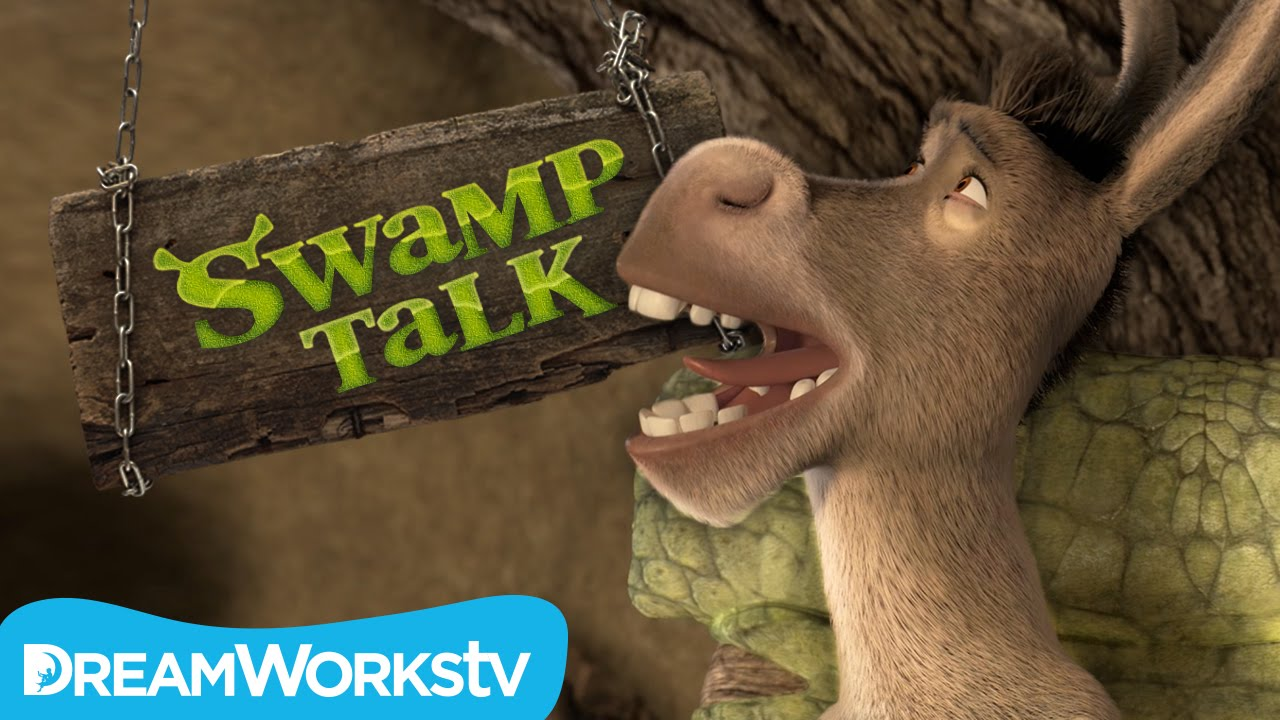 new theme song swamp talk with shrek and donkey youtube