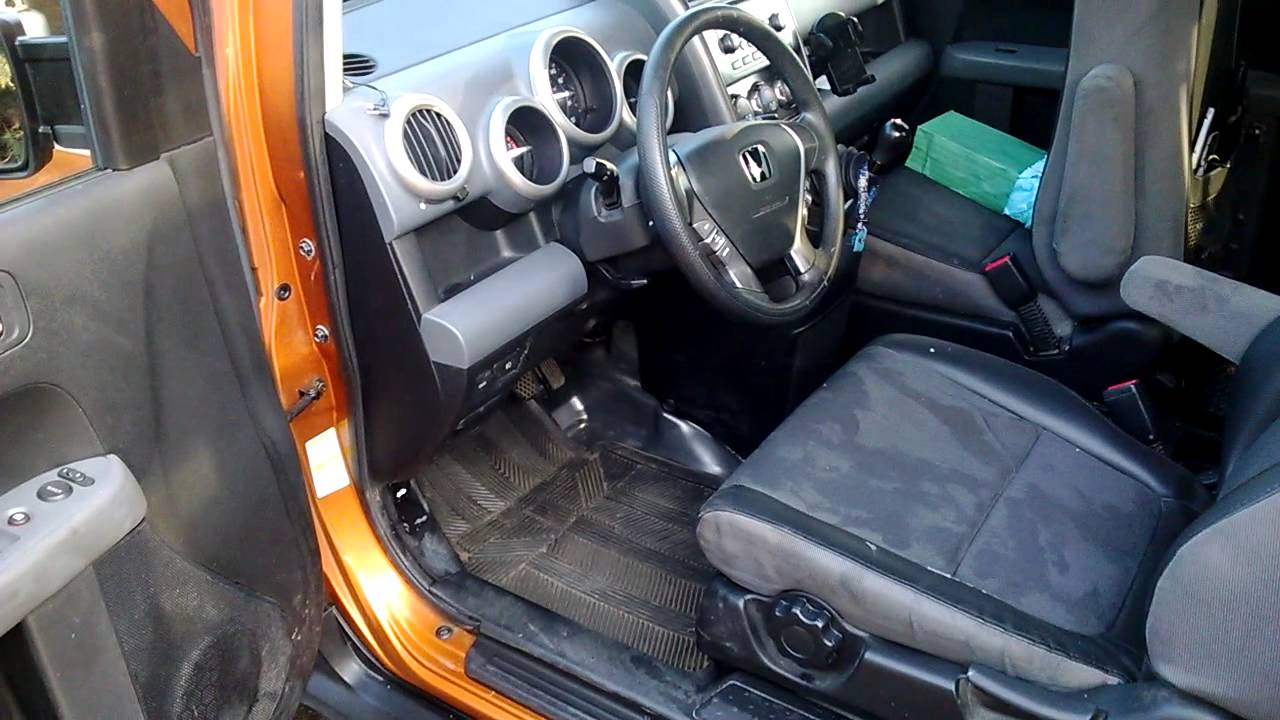 used honda element 2006 manual awd youtube. Black Bedroom Furniture Sets. Home Design Ideas