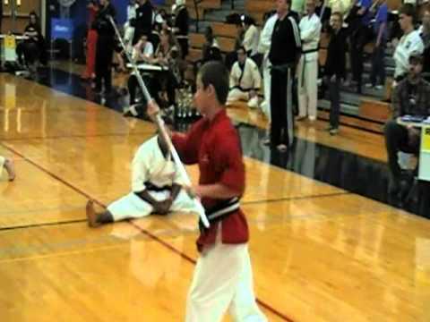 Shaun Brown & Nick Stephens Form Dragon Karate