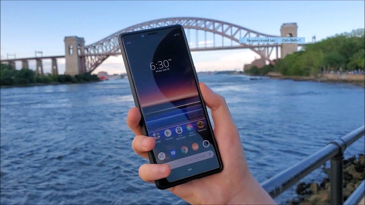 Sony Xperia 1 Case Review (UPSTONE)