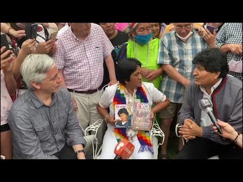 Evo Morales regresóa Bolivia
