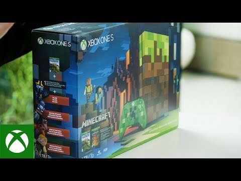 Unboxing The Xbox One S Minecraft Limited Edition Bundle