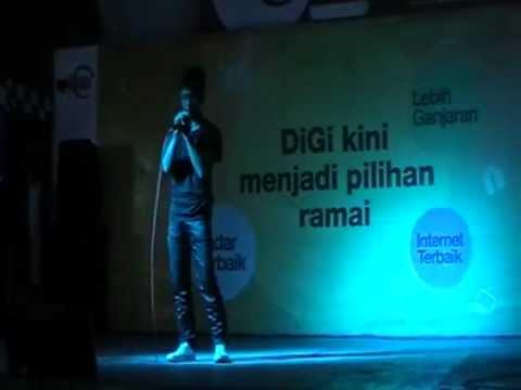 Peserta 1 @ Uptown Shah Alam Karaoke Talent   Nazirul Mubin Idas Nan