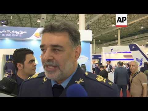 Despite sanctions, Iran shows off aerospace capabilities