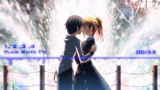 [REQUEST] Nightcore - 1, 2, 3, 4 (Plain White T's)