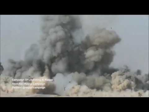 The Epic moment French Special Forces destroy an ISIS kamikaze car near Raqqa