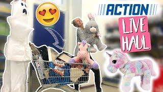 OMG! Action LIVE HAUL! Ihr bestimmt wofür ich 150€ ausgebe & gewinnt!