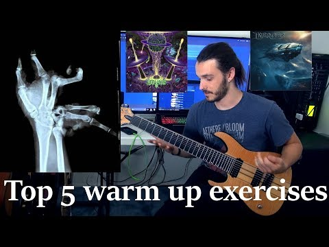 Miles Dimitri Baker - Top 5 Warm Up Exercises