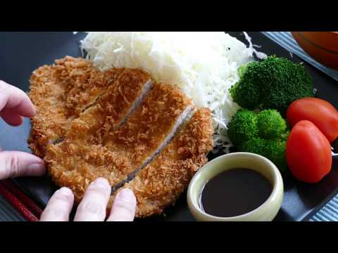 Tonkatsu / Japanese style pork cutlet *Crunchy Japanese fried pork cutlet