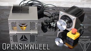 New Open Sim Wheel Augury (OSW) - Test iRacing Audi R8 @ Brands Hatch
