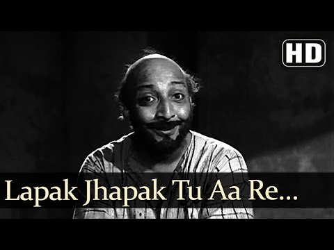 Lapak Jhapak Tu Aa Re Badarwa - David - Boot Polish - Manna Dey - Evergreen Hindi Songs