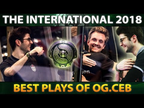 From Coach to TI8 Champion - OG.CEB Best Plays The International 2018 - Dota 2 #TI8