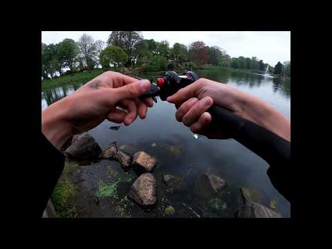Learning How To Use A Baitcaster (Trout Fishing!)