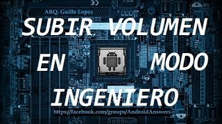 Video Subir el volumen con modo ingeniero download MP3, 3GP, MP4, WEBM, AVI, FLV Juni 2018