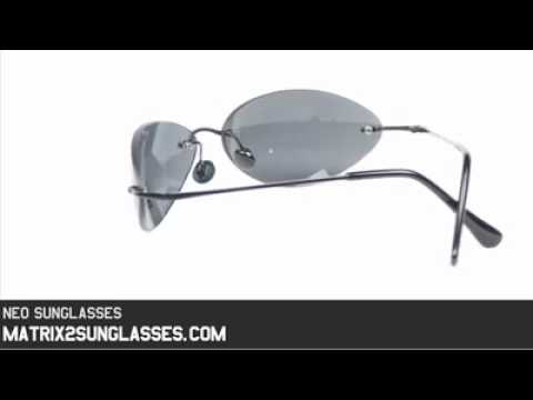 686d2834eae Matrix Neo Sunglasses - YouTube