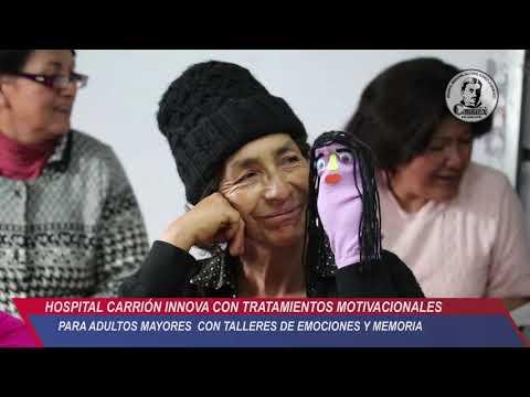 HOSPITAL CARRIÓN INNOVA CON TRATAMIENTOS MOTIVACIONALES PARA ADULTOS MAYORES