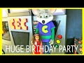 CHUCK E. CHEESE'S BIRTHDAY PARTY: WITH ADRIANNA