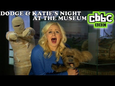 Dodge the Dog at Halloween - Dodge and Katie's Night at the Museum