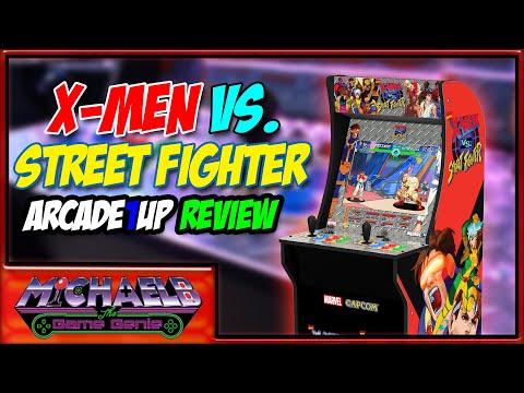 X-Men vs. Street Fighter Arcade1Up Review | MichaelBtheGameGenie from MichaelBtheGameGenie
