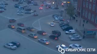Конфликт на Красном проспекте в Новосибирске, 16 мая 2017