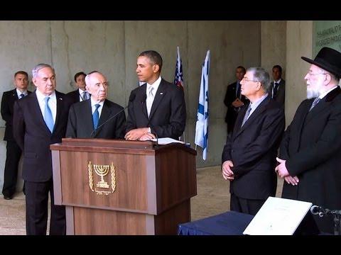 President Obama Speaks at Yad Vashem